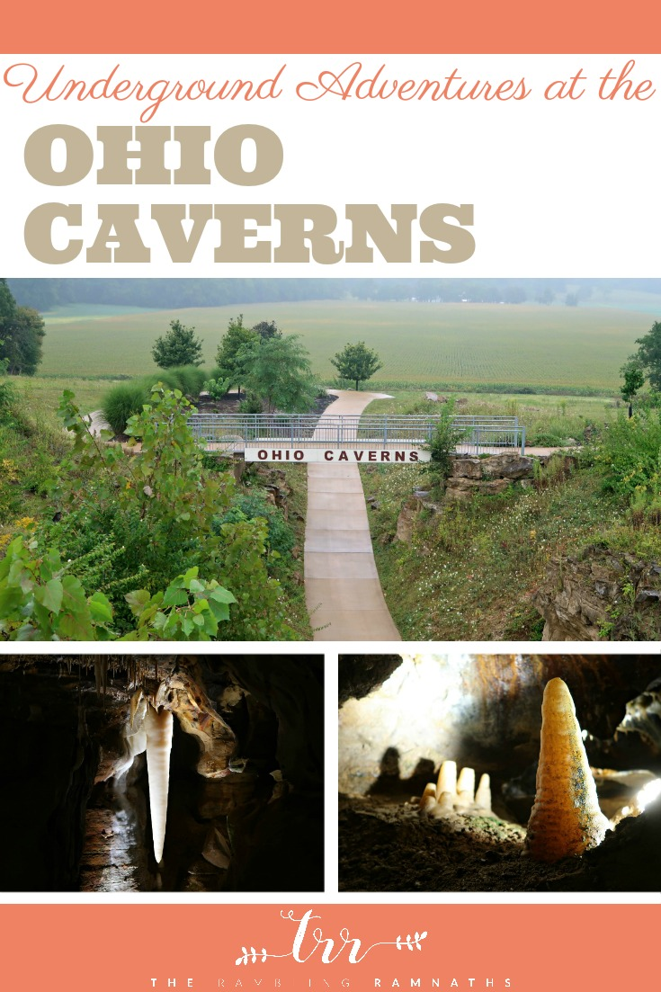 Underground Adventures at the Ohio Caverns | The Ohio Caverns in West Liberty, Ohio are the perfect place to have a family adventure anytime of the year! Check out our visit and find our top tips for visiting with kids.