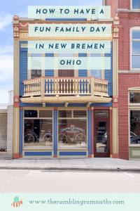 How to Have A Fun Family Day in New Bremen, Ohio