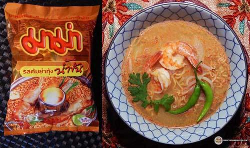 MAMA Shrimp Creamy Tom Yum