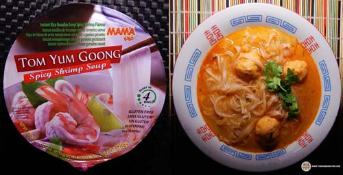 MAMA Tom Yum Goong Spicy Shrimp Rice Noodles