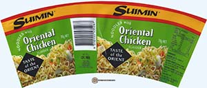 #2301: Suimin Noodles With Oriental Chicken Flavour
