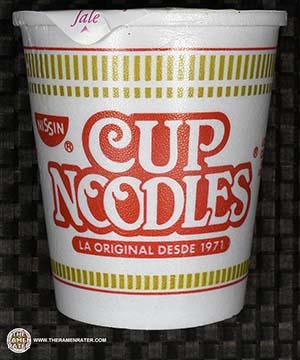 #2422: Nissin Cup Noodles Sopa Nissin Con Camaron Picante - Mexico - The Ramen Rater - instant noodles