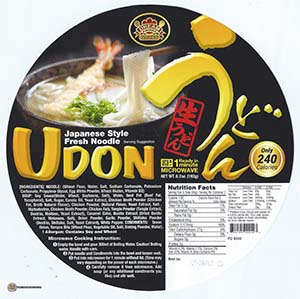 #2431: Dream Kitchen Udon Japanese Style Fresh Noodle - United States - The Ramen Rater - bowl noodle