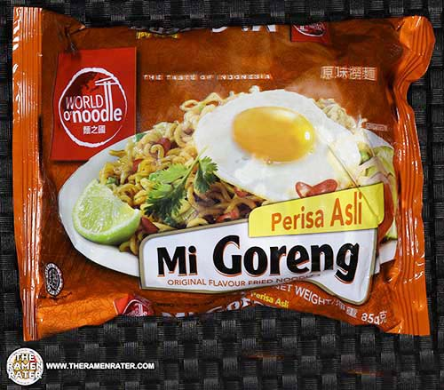 #2438: World O'Noodle Mi Goreng Original Flavour Fried Noodles - Indonesia - The Ramen Rater - instant noodle