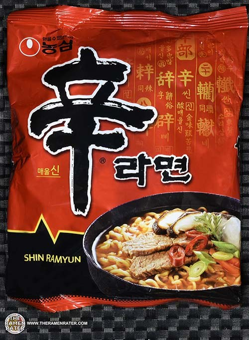 #2504: Nongshim Shin Ramyun - South Korea - The Ramen Rater - instant noodles