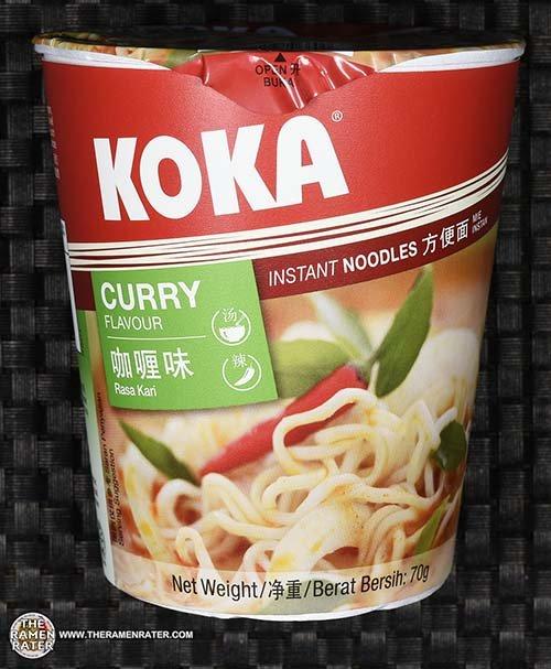 #2543: KOKA Curry Flavour Instant Noodles - Singapore - The Ramen Rater - Tat Hui