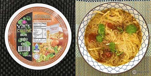 #10:Vifon Viet Cuisine Bun Rieu Cua Sour Crab Soup Instant Rice Vermicelli - Vietnam - The Ramen Rater - instant rice noodles