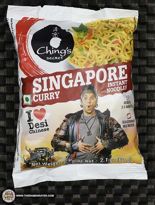 #2576: Ching's Secret Singapore Curry Instant Noodles - India - The Ramen Rater - desi chinese