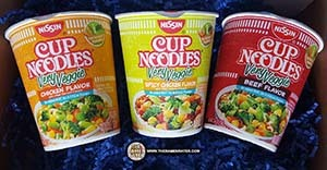 New Very Veggie Cup Noodles From Nissin