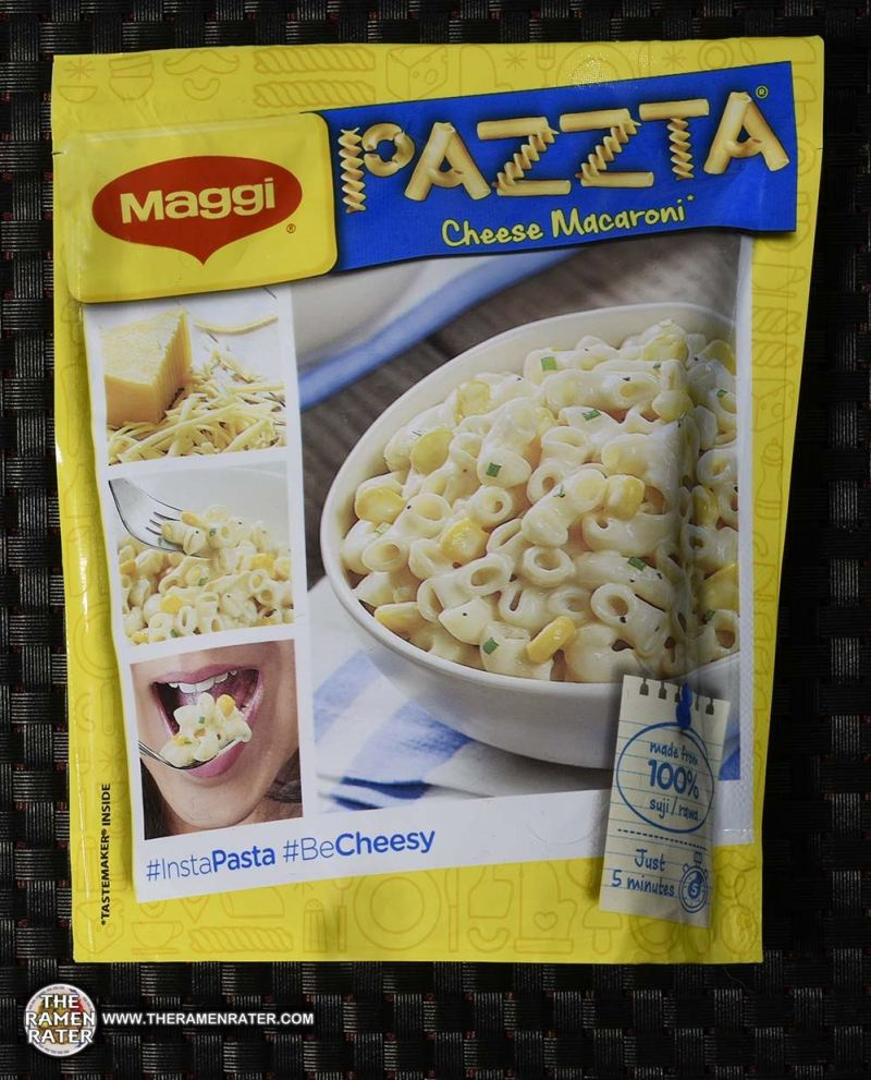 #2621: Maggi Pazzta Cheese Macaroni - India - The Ramen Rater - instant noodles