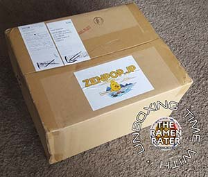 Unboxing With The Ramen Rater: Zenpop Summer Fresh Ramen Box
