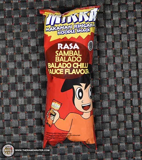 Meet The Manufacturer: #2653: Mikka Noodle Snack Sambal Balado Chilli Sauce Flavour - The Ramen Rater - Indonesia - Olagafood