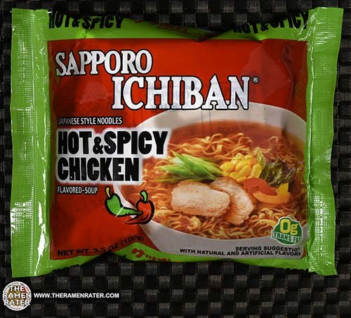Meet The Manufacturer: Re-Review: Sapporo Ichiban Japanese Style Noodles Hot & Spicy Chicken Flavored-Soup