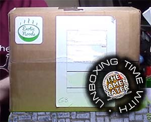 Unboxing Time: Exotic Noods March Green Box