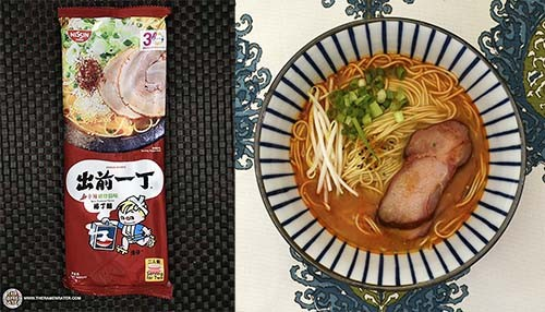 The Ramen Rater's Top Ten Instant Noodles Of All Time - #9: Nissin Demae Ramen Straight Noodle Spicy Tonkotsu Flavour - Hong Kong