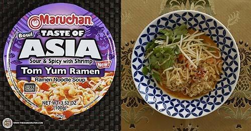Maruchan Bowl Taste Of Asia Tom Yum Ramen Noodle Soup