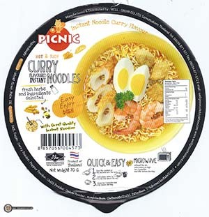 #2981: Picnic Hot & Rich Curry Flavoured Instant Noodles
