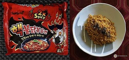 spiciest instant noodles #2: Samyang Foods 2x Spicy Hek Buldak Bokkeummyun – South Korea