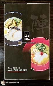 Restaurant Ramen: #3060: Jinya Ramen Bar - Chicken Wonton Ramen - United States