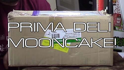 Mooncake from Prima Deli - Singapore