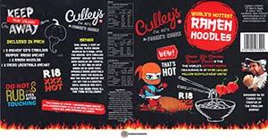 #3108: Culley's World's Hottest Ramen Noodles - New Zealand