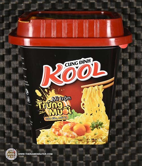 #3125: Micoem Cung Dinh Kool Mi Tron Trung Muoi (Salted Egg Flavor) - Vitenam