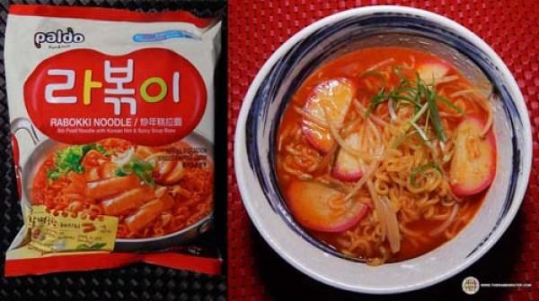 Best Korean Ramen - Paldo Rabokki Noodle