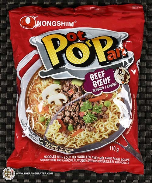#3191: Nongshim POP (Pot or Pan) Beef Flavor - United States
