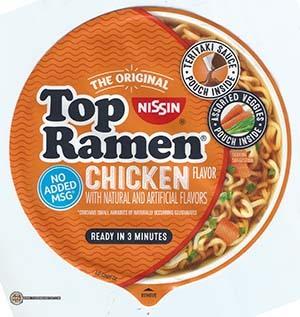 #3336: Nissin Top Ramen Chicken Flavor Bowl - United States