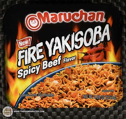 #3386: Maruchan Fire Yakisoba Spicy Beef Flavor - United States