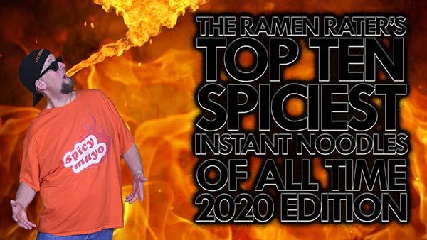 Spiciest Instant Noodles 2020