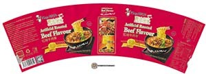 #3466: Kang Shi Fu Never Met Noodles Artificial Roasted Beef Flavour - United States