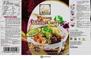 #3472: MyKuali Penang White Curry Noodle (New Recipe) - Malaysia