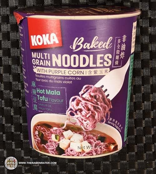 #3482: KOKA Baked Multi Grain Noodles Hot Mala Tofu Flavour - Singapore