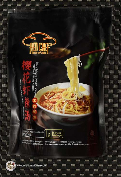 #3519: Red Chef Spicy Sakura Prawn Soup Rice Vermicelli And Noodles (New Recipe) - Malaysia