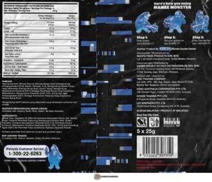 #3560: Mamee Monster Ghost Pepper Snek Mi - Malaysia