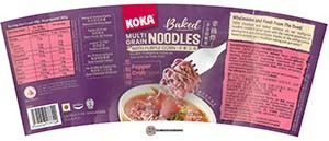 #3544: KOKA Baked Multi Grain Noodles Pepper Crab Flavour - Singapore