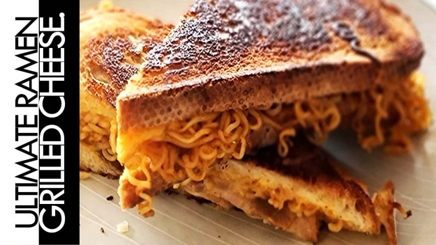 Ultimate Ramen Grilled Cheese Sandwich Recipe