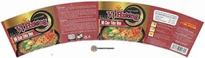 Meet The Manufacturer: #3608: Vi Huong Black Pepper Crab Flavor Instant Noodles - Vietnam