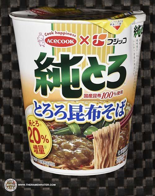 #3635: Acecook Fujicco Pure Tororo Konbu Soba - Japan