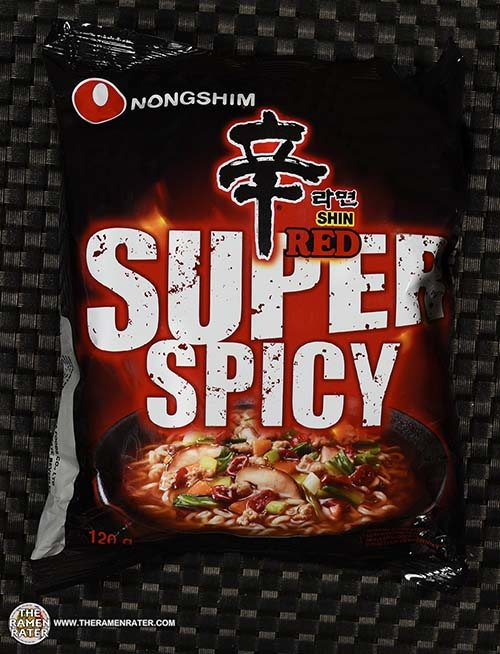 #3678: Nongshim Shin Red Super Spicy - South Korea
