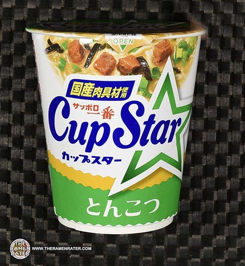 #3718: Sapporo Ichiban Cup Star Tonkotsu Ramen - Japan