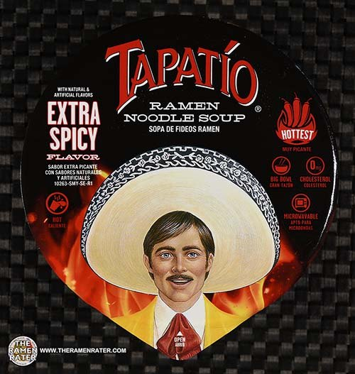 #3723: Tapatio Ramen Noodle Soup Extra Spicy Flavor - United States