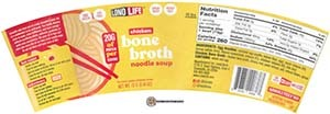 Meet The Manufacturer: #3749: LonoLife Chicken Bone Broth Noodle Soup - United States
