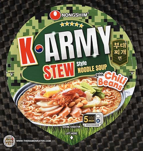 #3755: Nongshim K*Army Stew Style Noodle Soup - United States