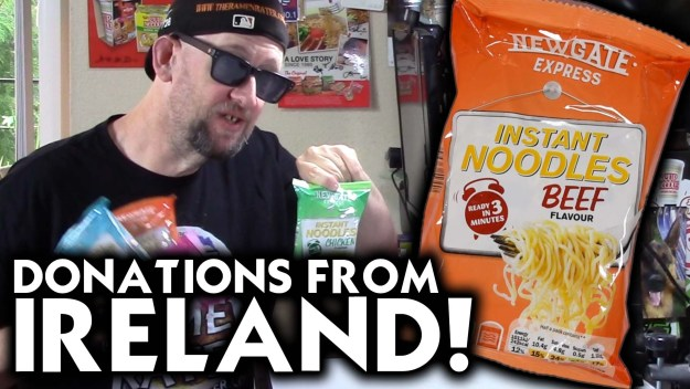 Newgate Express Instant Noodles Sent By A Viewer From IReland!