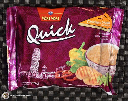 #3785: Wai Wai Quick Chicken Pizza Flavored Instant Noodle - Serbia