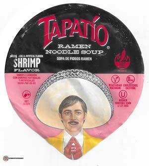 #3775: Tapatio Ramen Noodle Soup Shrimp Flavor - United States