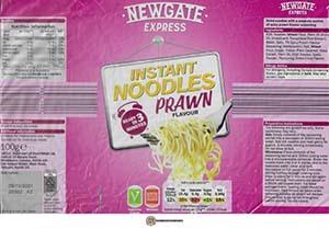 #3788: Newgate Express Instant Noodles Prawn Flavour - Ireland