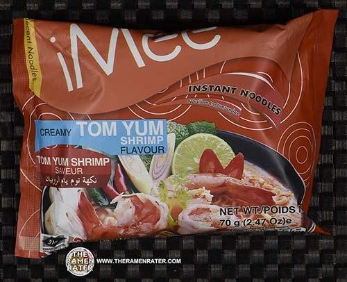 #3803: iMee Instant Noodles Creamy Tom Yum Shrimp Flavour - Thailand